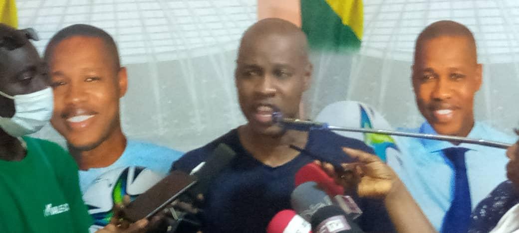 Élection président fédération sénégalaise de football : Mady Touré (président GF) présente son programme au monde sportif koldois.