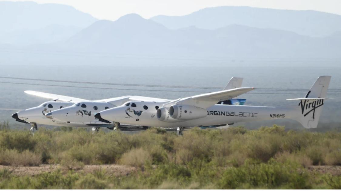 Le milliardaire Richard Branson a réussi son vol dans l'espace
