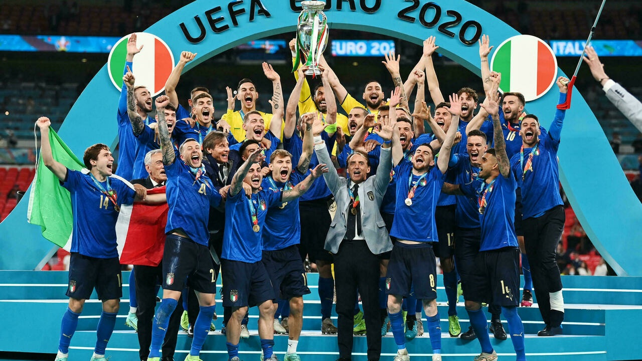 Football : Les Italiens remportent l'Euro 2020.