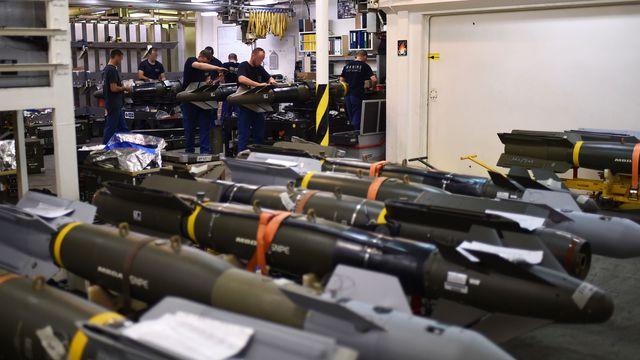 Défense et sécurité : l'industrie de l'armement mondiale a fait un chiffre d'affaires de 551 milliards de dollars en 2020.