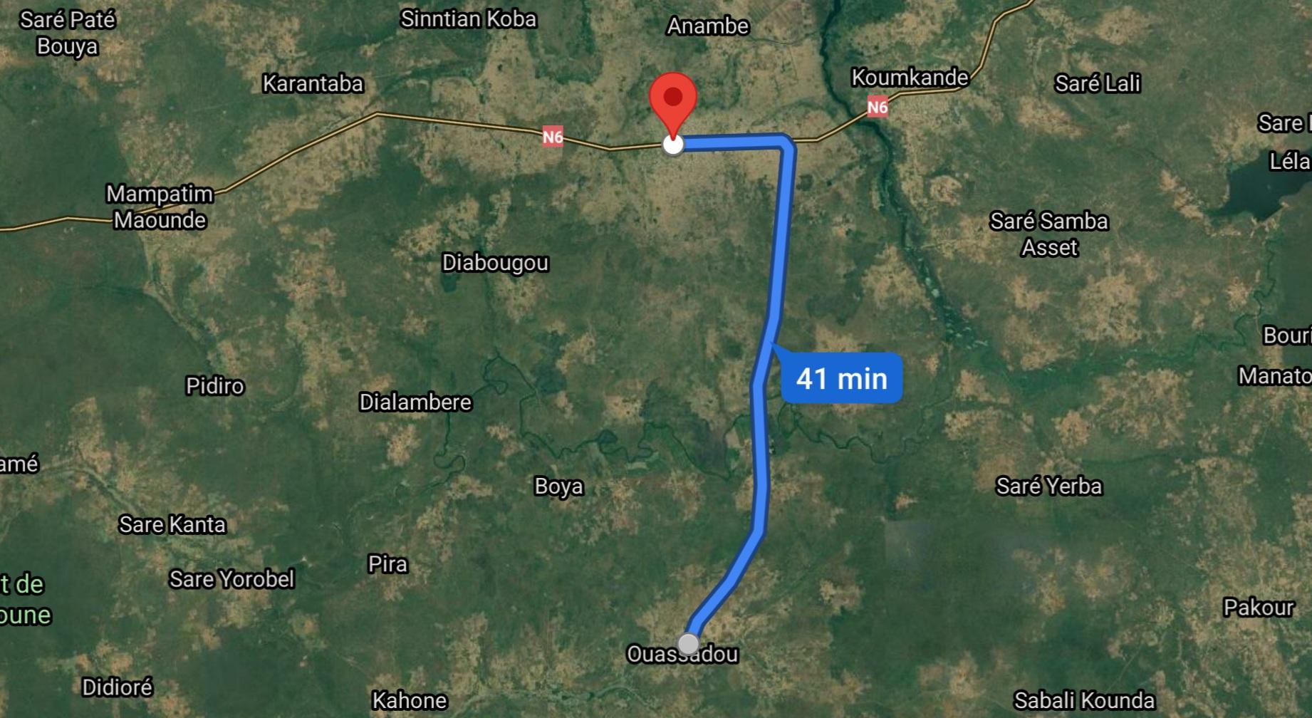 Axe Diaobé-Wassadou : un accident fait 13 blessés dont 4 graves.