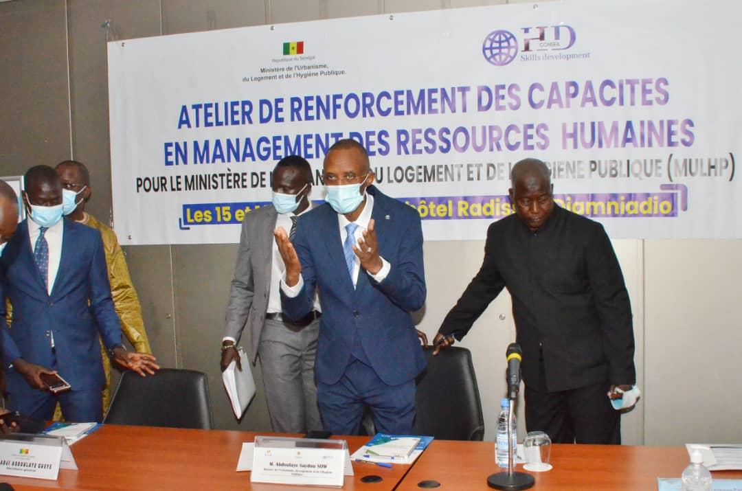 SEMINAIRE DE RENFORCEMENT DES CAPACITES : le ministère de l'Urbanisme capacite ses cadres en management des ressources humaines