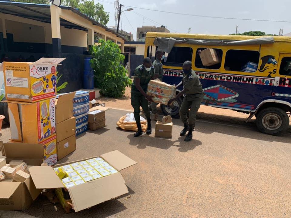 ZAC Mbao : la gendarmerie saisie des médicaments d'une valeur de 46 millions de FCFA