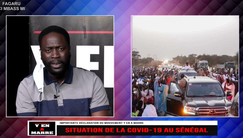 Gestion de la pandémie Covid-19 : Y en a marre crache ses vérités, dénonce l'irresponsabilité du gouvernement et accuse Macky Sall de haute trahison.
