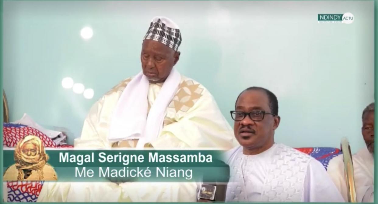 Décès de Serigne Moustapha Massamba Mbacké : Me Madické Niang perd son marabout et ami avec qui il a cheminé pendant 56 ans.