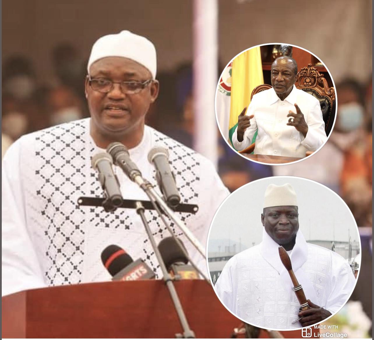 GAMBIE ET PRÉSIDENTIELLE / Barrow entre son «Wax waxett», sa proximité avec Condé, ses yeux doux à Jammeh et ce risque de chaos qu'il fait courir aux populations…