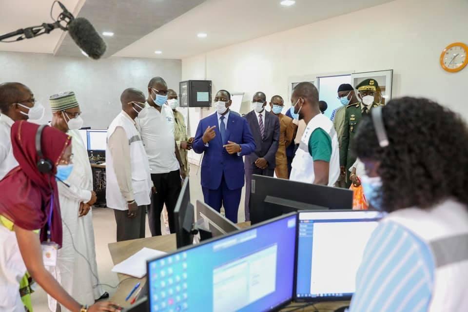 Covid-19 / Situation décrite comme « explosive » dans les hôpitaux : le Pr Macky Sall en visite surprise dans certaines structures de santé