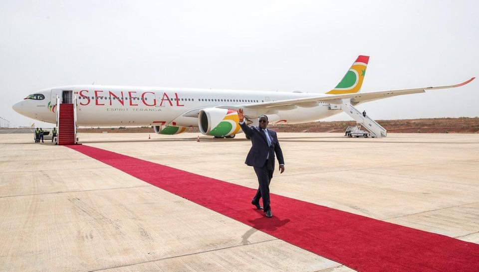 Infrastructures aériennes : « j'ambitionne pour le Sénégal, une compagnie qui sera dans 20 ans l'alter ego de Ethiopian » (Macky Sall)