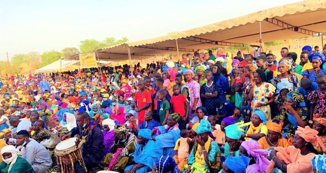 Podor : Oumar Baba Ba déclare sa candidature à la mairie de Guédé