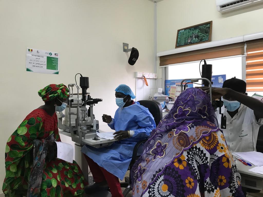 Soins contre la cataracte :  171 patients de l'IPRES bénéficient d'opérations