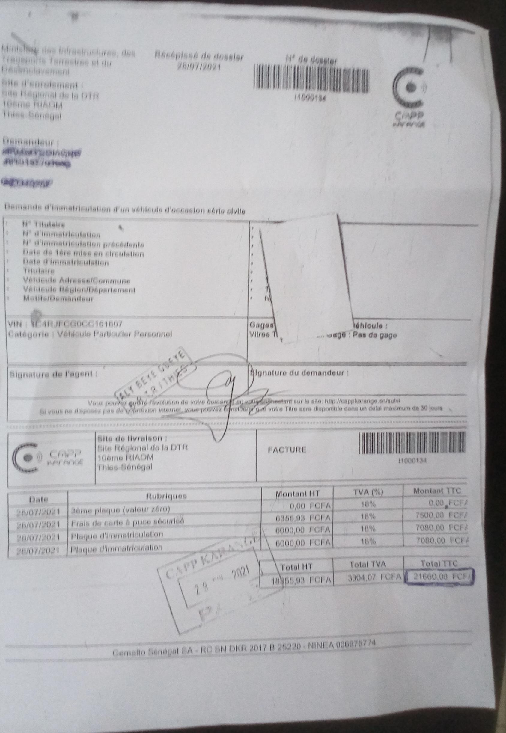 Thiès / Hausse des tarifications au service des mines : Des centaines de dossiers en souffrance sur la table des prestataires.