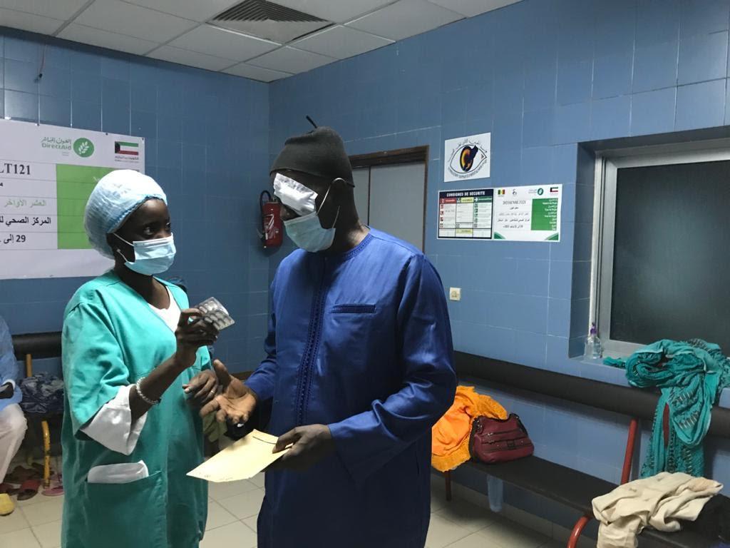 Soins contre la cataracte :  171 patients de l'IPRES bénéficient d'opérations.