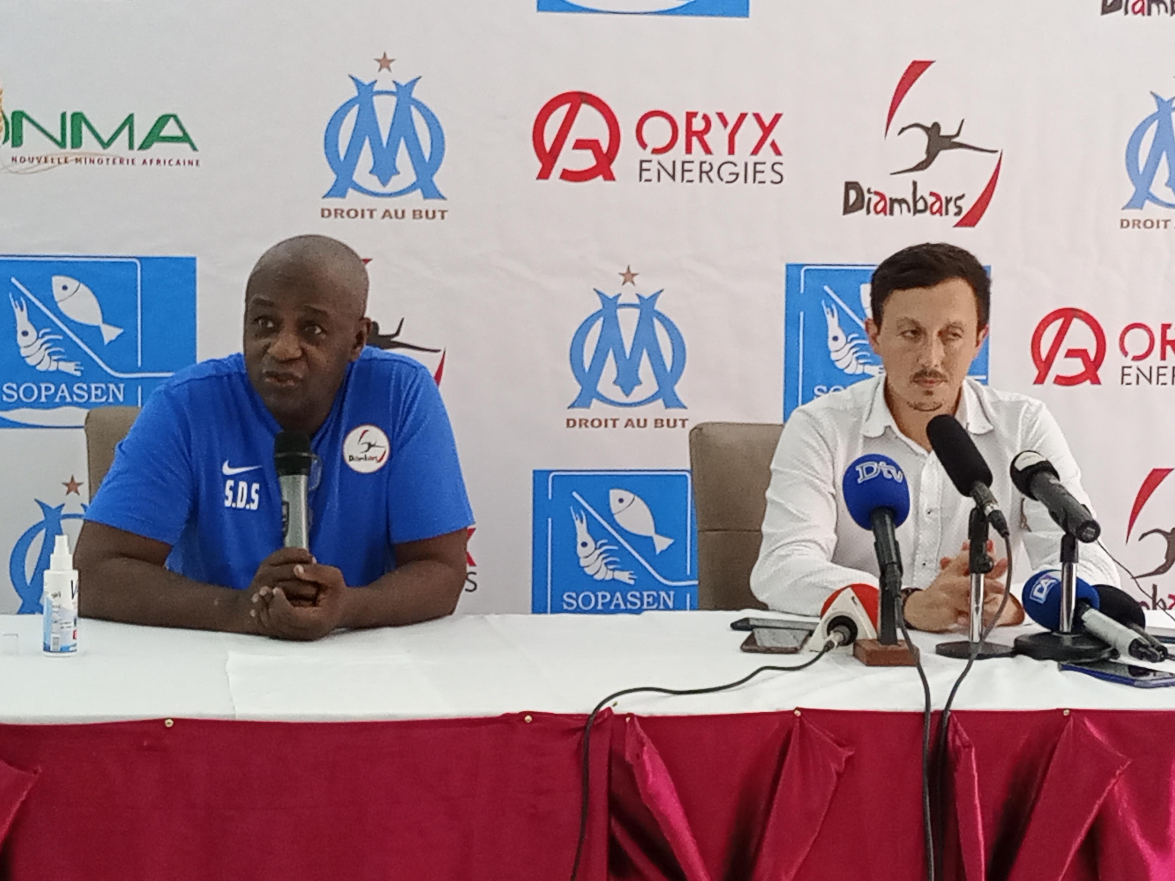 Mbour : Les grandes lignes de la rencontre animée par le président de l'Institut Diambars et celui de l'Olympique de Marseille.