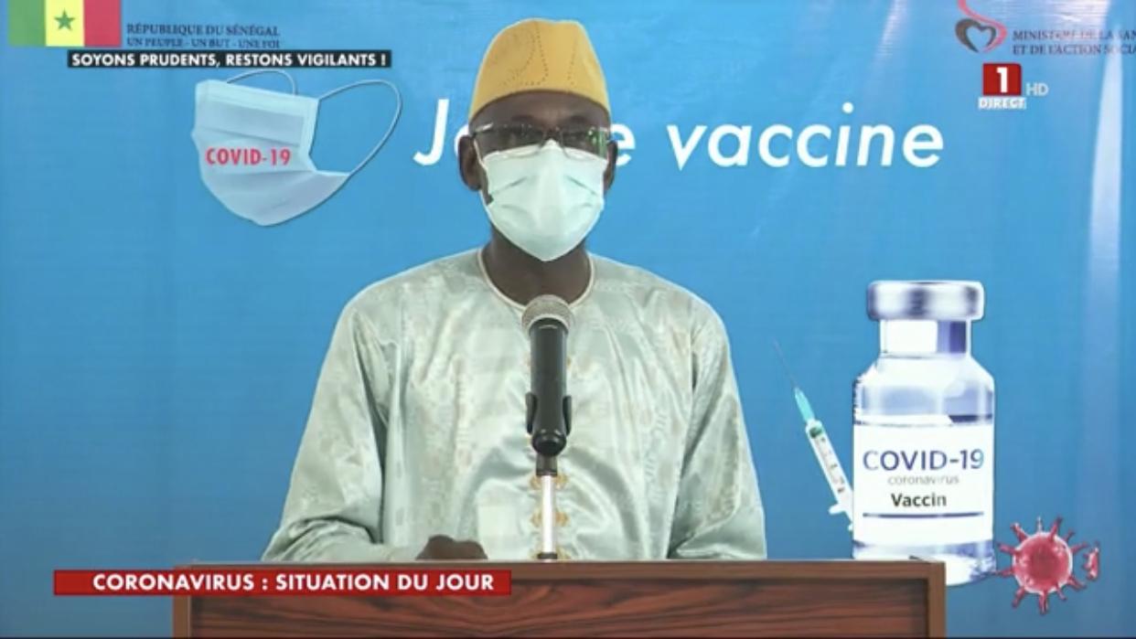 SÉNÉGAL : 648 nouveaux cas testés positifs au coronavirus, 410 nouveaux guéris, 10 nouveaux décès et 65 cas graves en réanimation.