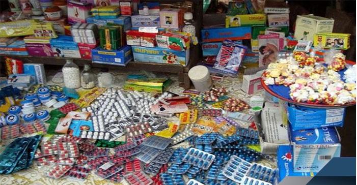 Vente illégale de médicaments : Djiby Cissé et Latyr Diaw s'approvisionnaient au marché Ocass de Touba.