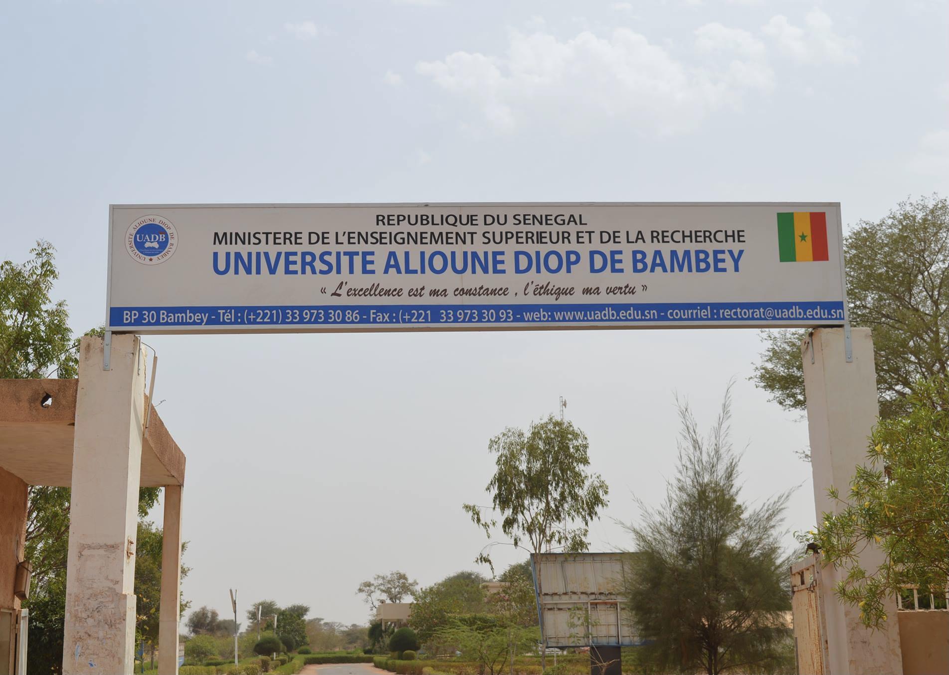 Université Alioune Diop de Bambey : Suspension des cours et examens jusqu'au 4 octobre, dissolution de la Coordination des étudiants et des amicales des UFR