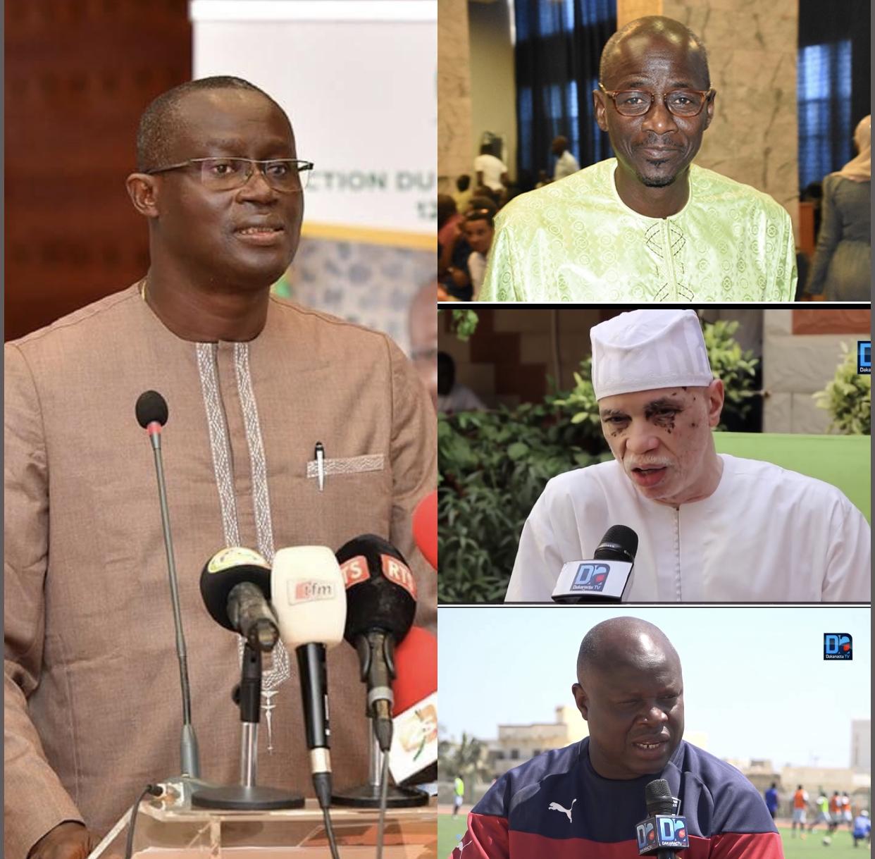 Réunion comité exécutif FSF : Installation d'une commission chargée de la révision des textes, Mbaye Diouf Dia, Louis Lamotte et Amara Traoré cooptés...
