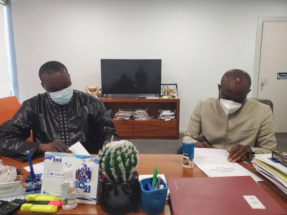 DIRECTION DE L'EMPLOI / Pape Modou Fall exploite le programme « Xëyu Ndaw Ñi », paraphe deux accords de partenariat et fait enrôler 130 jeunes.