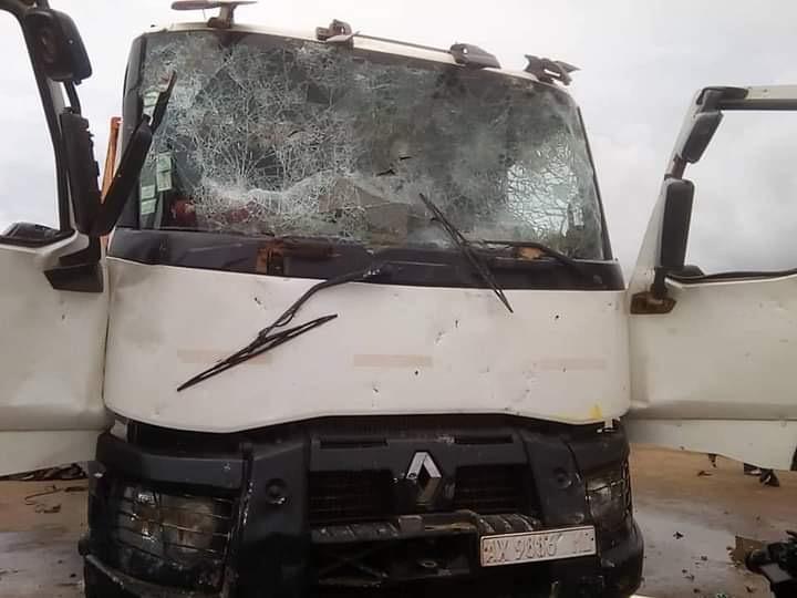 Accident à Kaolack : Le chauffeur du camion conduisait en état d'ivresse.
