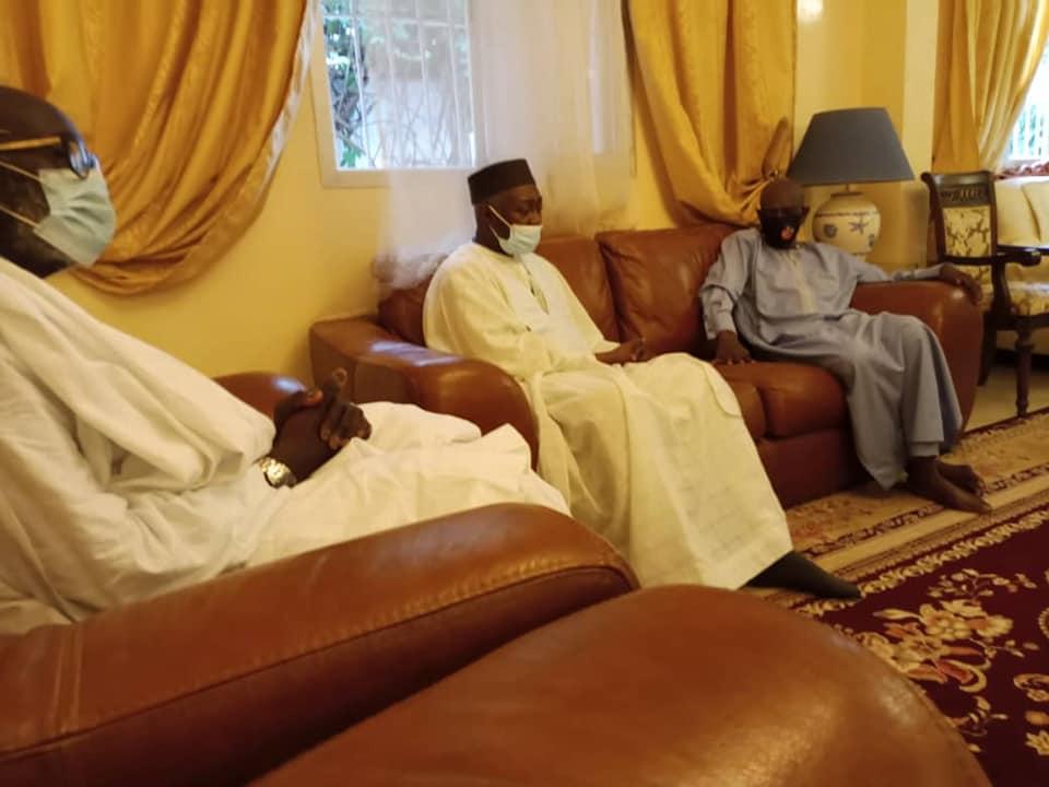 Rappel à Dieu du Khalife des Layène : Mamadou Lamine Diallo est allé présenter ses condoléances