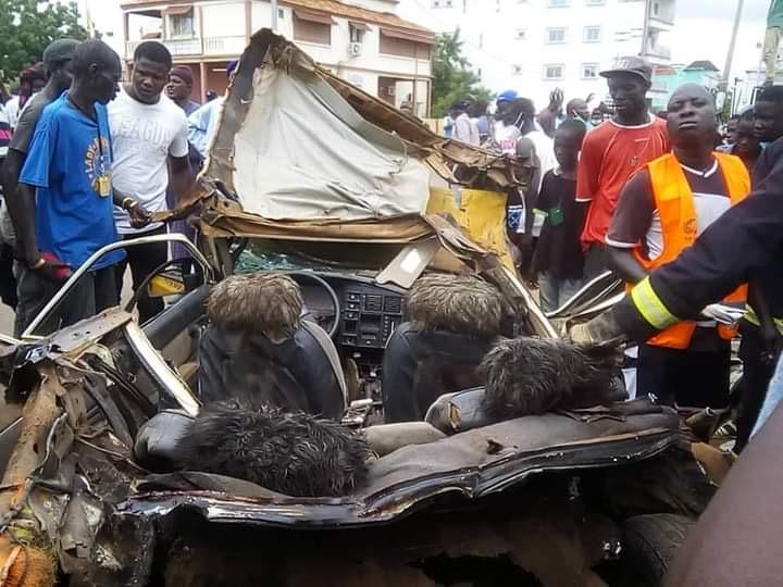 Accident mortel à Kaolack : Le chauffeur du camion déféré.