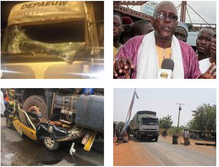 Accident mortel à Kaolack : Gora Khouma indexe « la gestion du contrôle routier » et dit basta à la violence