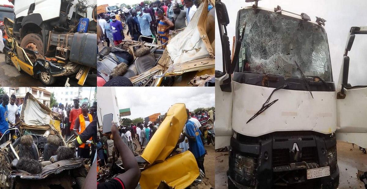 Kaolack : Le chauffeur du camion malien placé sous mandat de dépôt.