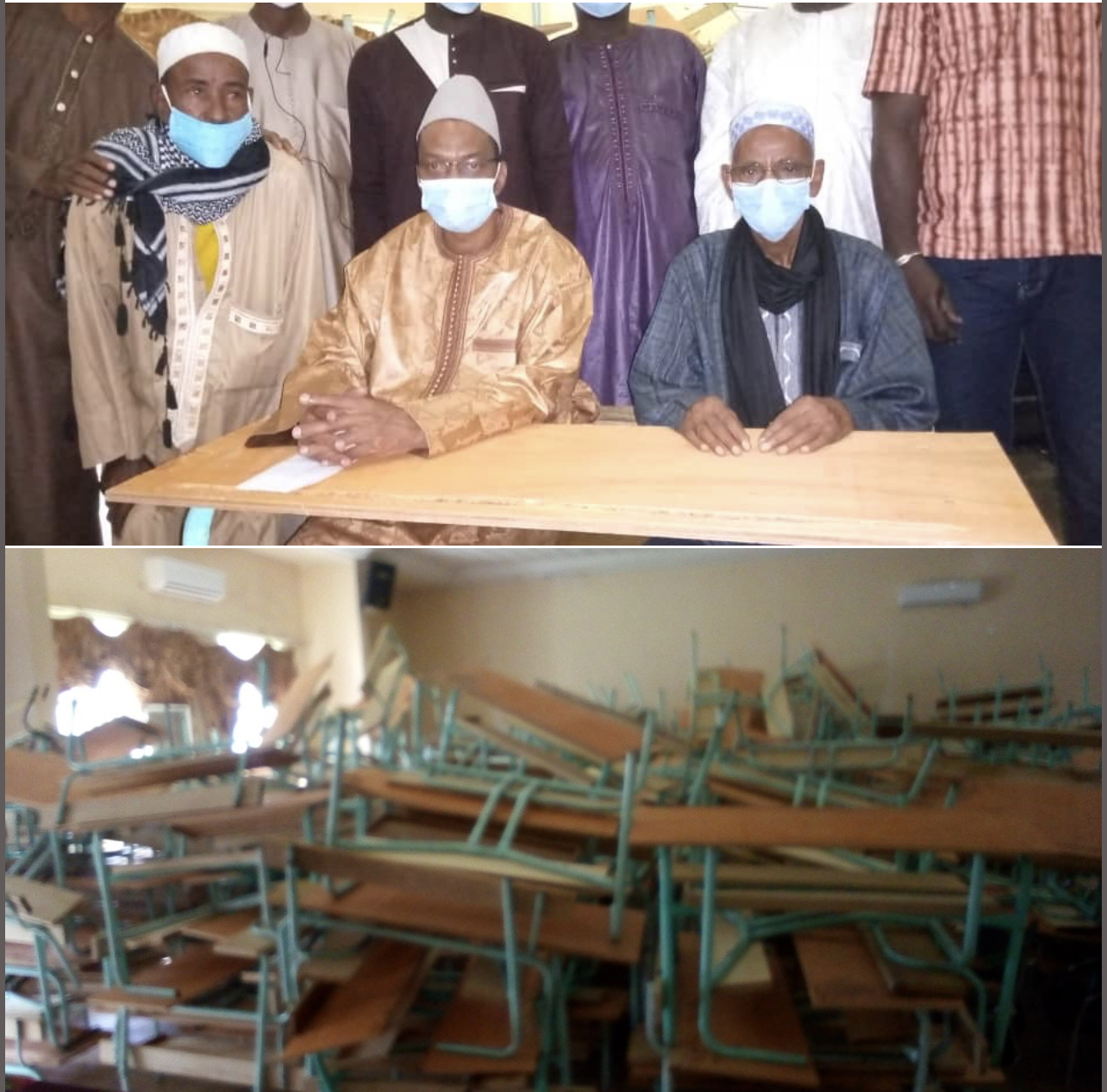 KOLDA : après la construction de salles de classe, le Conseil départemental dote les collèges de 300 tables-bancs d'une valeur de 18 millions.