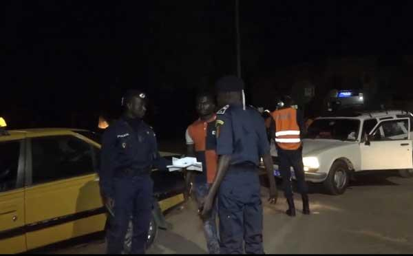 Opération de sécurisation / Mbour : 301 personnes interpellées, 125 voitures mises en fourrière.