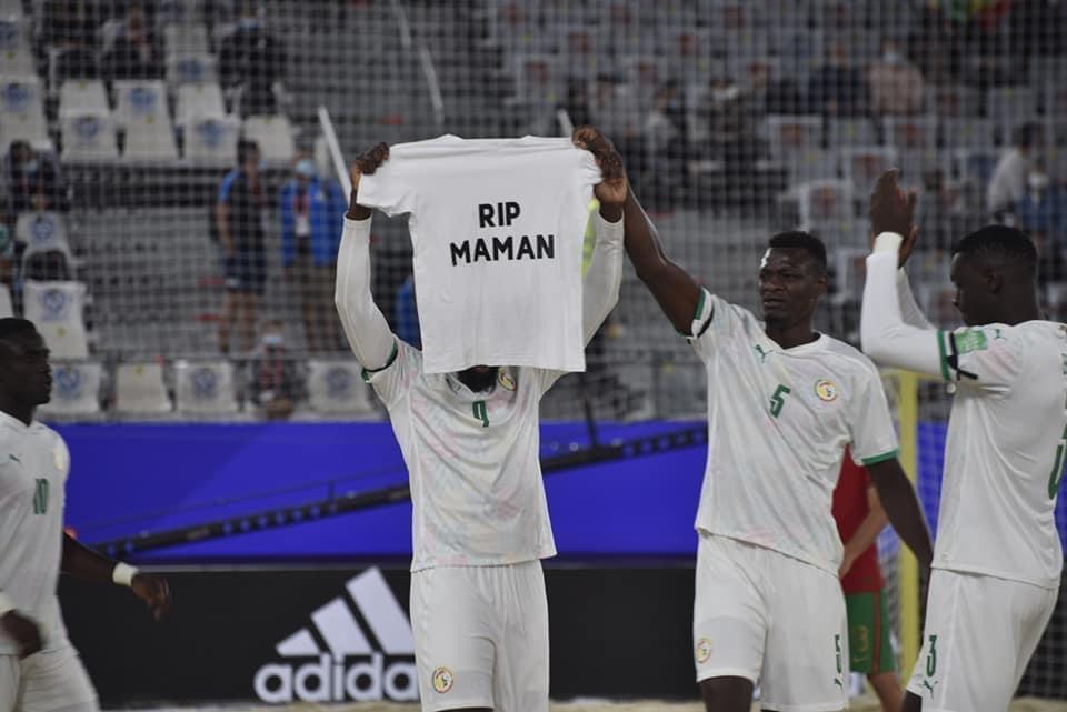 Ngalla Sylla (entraîneur équipe nationale Beach Soccer) : «Cette victoire est pour Raoul...»