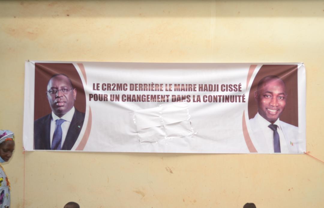 Kédougou / Locales : Le Comité de Réflexion et d'Orientation Stratégique (CROS) pour la  réélection du maire Mamadou Hadji Cissé.