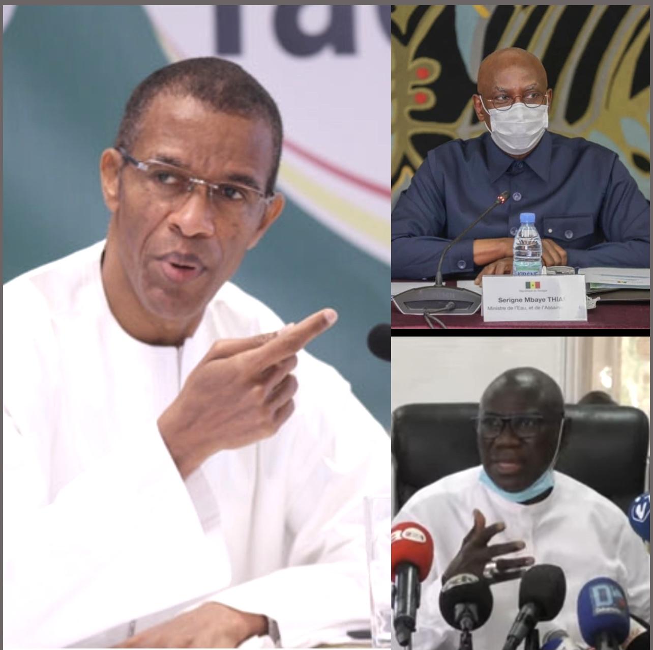 Tensions récurrentes au sein du PS : Alioune Ndoye, Serigne Mbaye Thiam, Jean Baptiste Diouf, la guerre des trois !