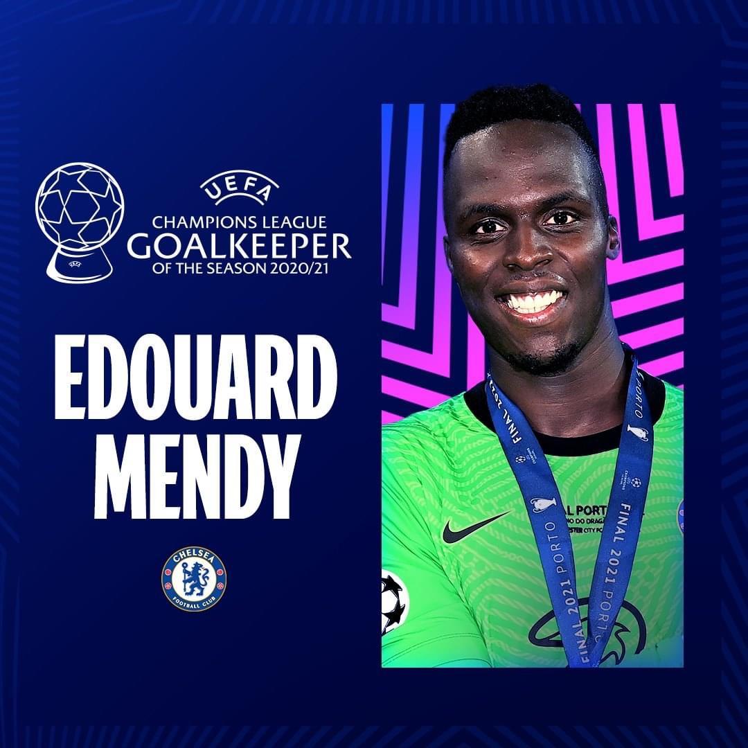 Ligue des champions (2020/2021) : Édouard Mendy désigné meilleur gardien devant Ederson et Courtois !