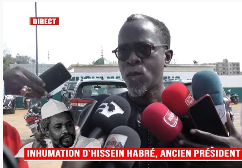 Yakham Mbaye sur l'enterrement de Habré : « Ce fut un honneur pour moi qui l'ai connu étant jeune journaliste; mon devoir c'est de l'accompagner à sa dernière demeure »