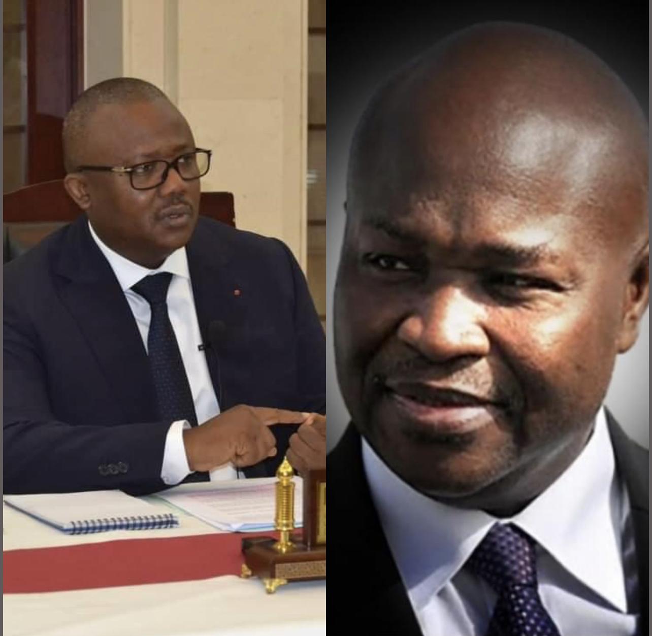Décès de Alioune Badara Cissé : Umaro Sissoco Embalo, le président de la Guinée Bissau rend hommage à un «grand frère et ami»