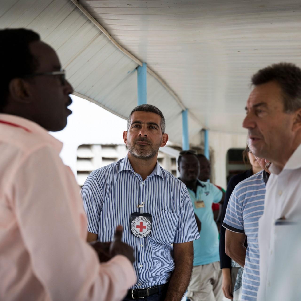 Journée Internationale des disparus : Patrick Youssef se félicite des efforts consentis par le CICR.