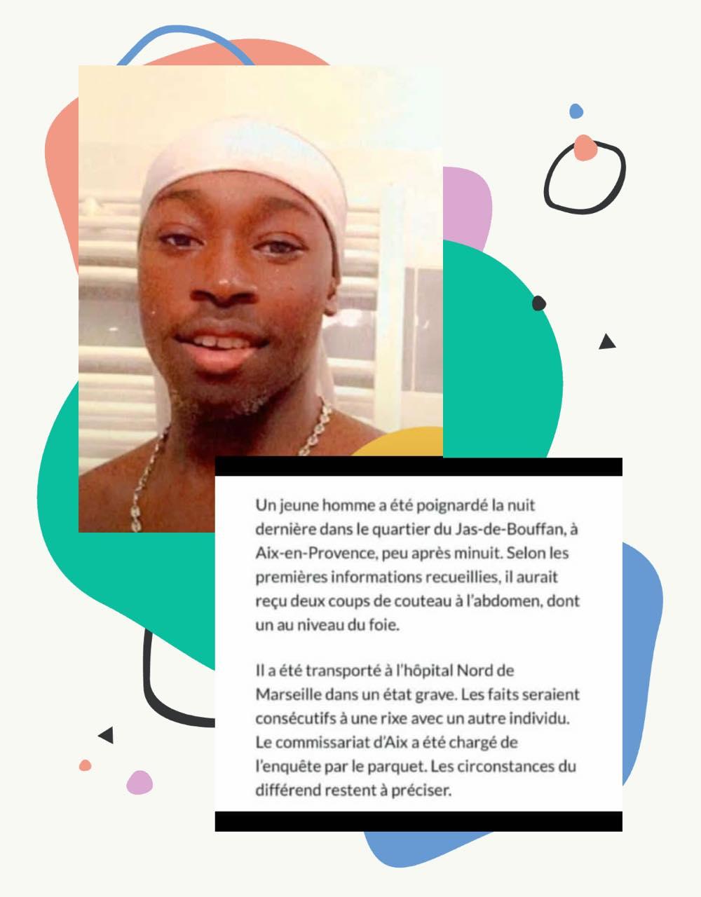 Marseille : Un jeune Sénégalais tué à coups de couteau
