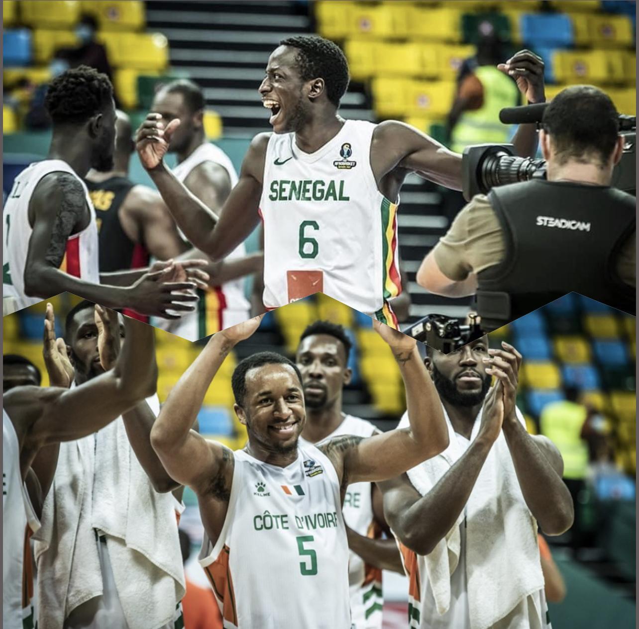 Demi-finale Afrobasket masculin : Les Lions défient les Éléphants ce samedi (16h00 GMT)