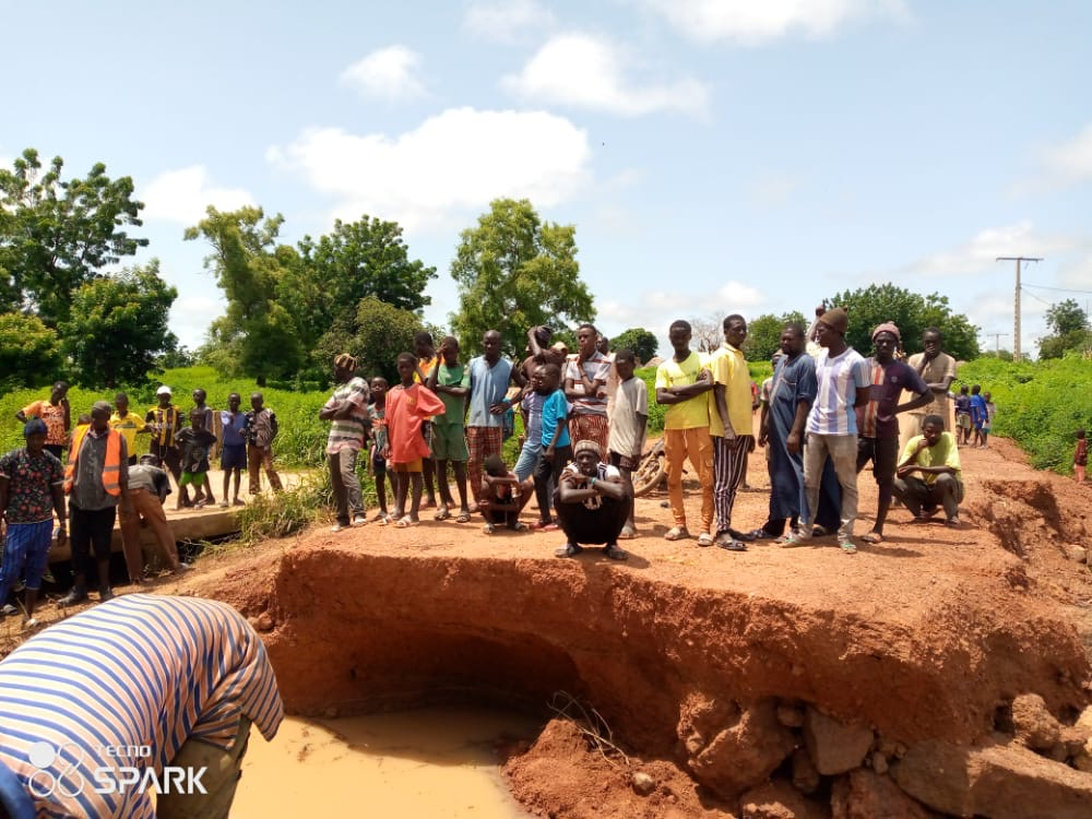 Koungheul : Les maires des communes de Fass Thiéckène et de Saly Escale dégagent leurs propres moyens pour la réhabilitation du pont de Koungheul Socé...