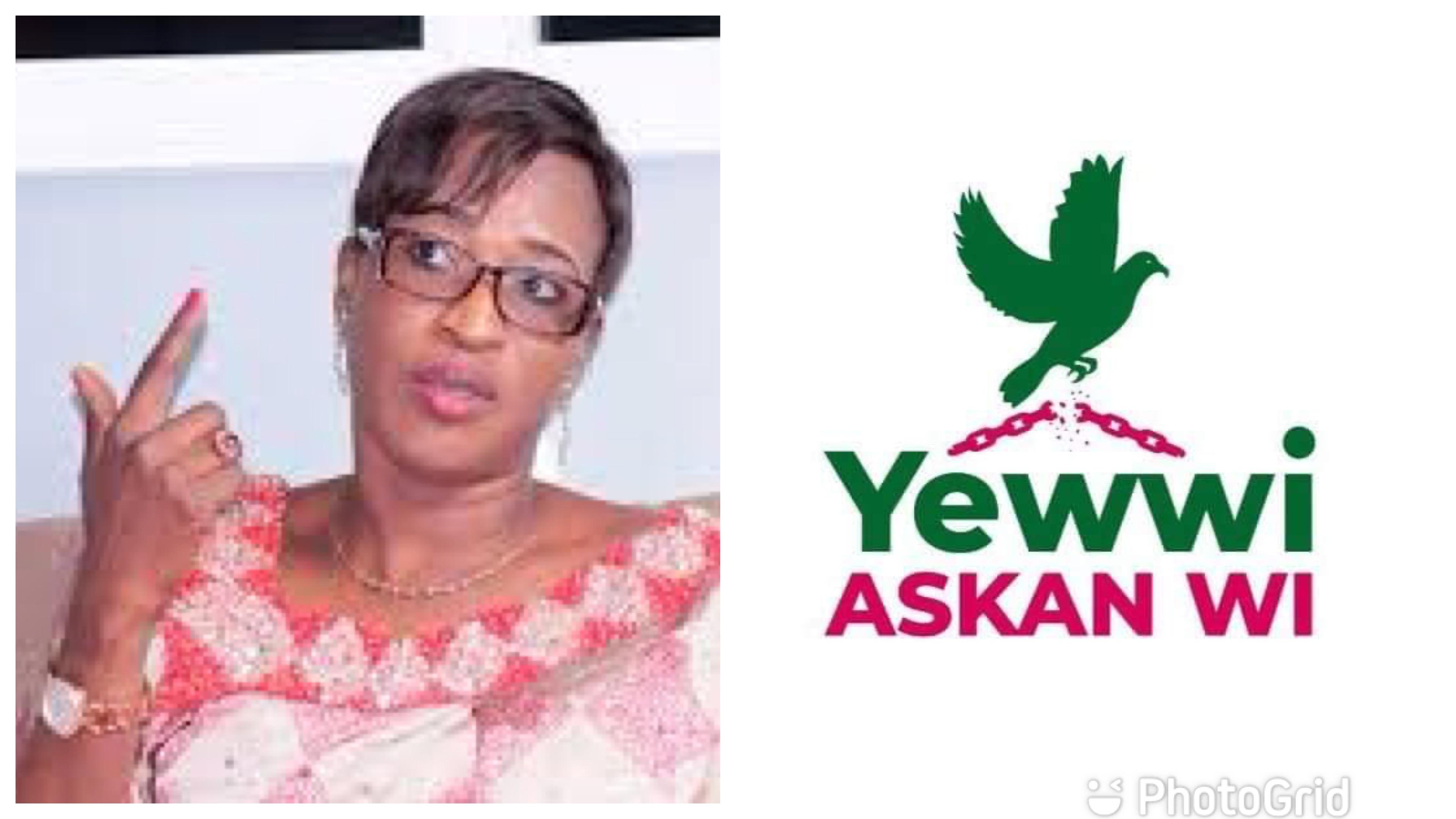 Mise en place de Yewwi Askan Wi : Zahra Iyane Thiam accuse les responsables de copier le projet obsolète de Benno Siggil Sénégal