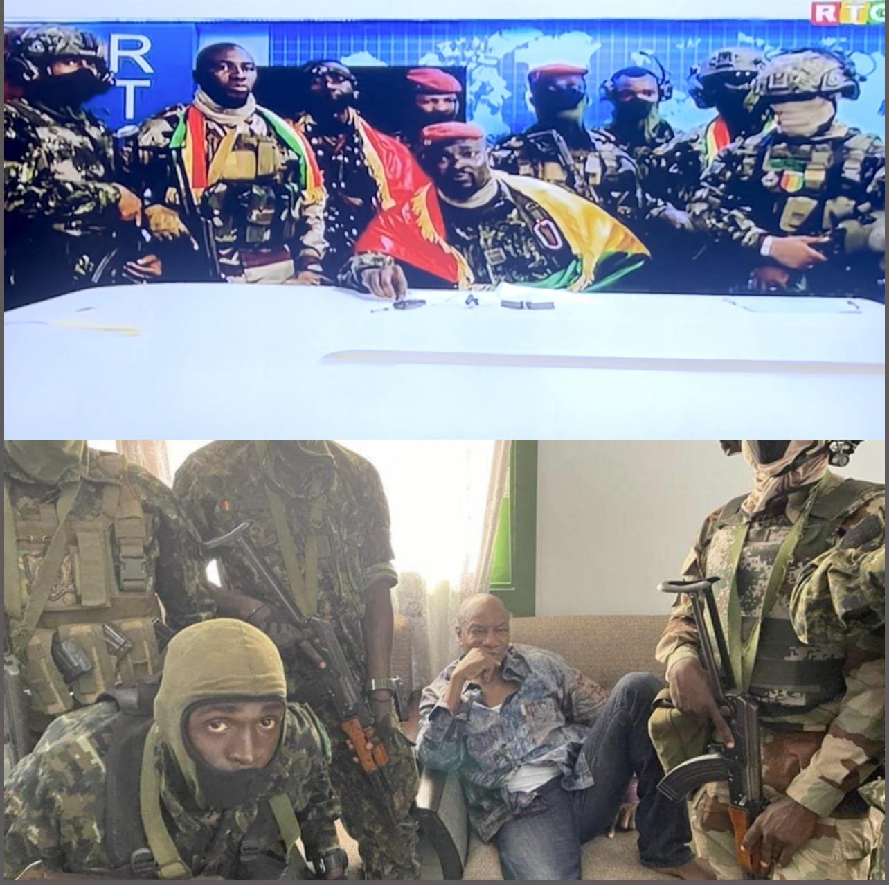 Guinée Conakry / Des militaires affirment avoir destitué Alpha Condé : la part de responsabilité de la communauté internationale.