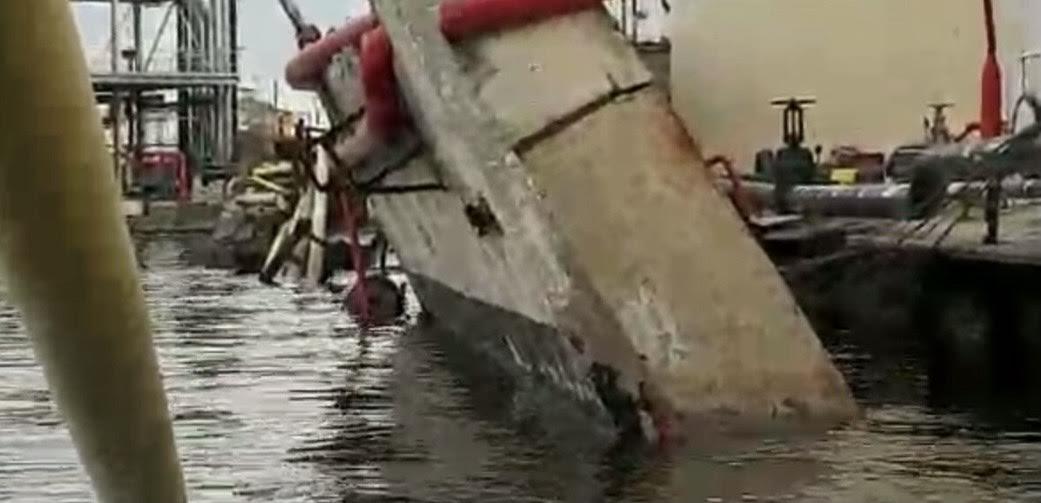 Port Autonome de Dakar : Effondrement du Quai 910 du mole 9, la direction du Port annonce l'ouverture d'une enquête.