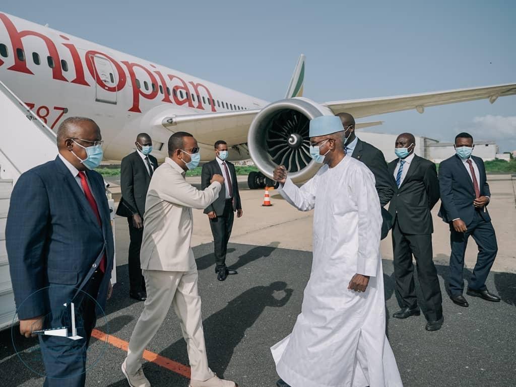 Visite de travail : le 1er ministre Ethiopien Abiy Ahmed Ali à Dakar pour une journée