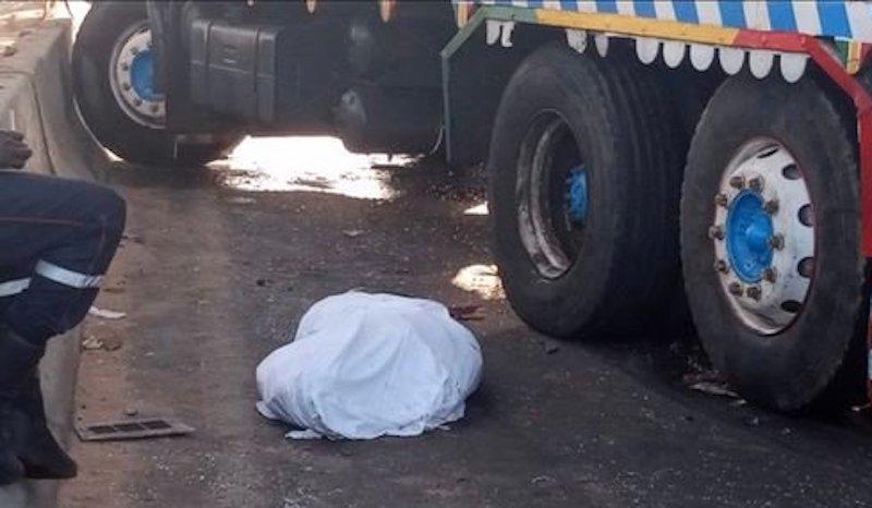 Kaolack : Un camion tue un conducteur de Jakarta.