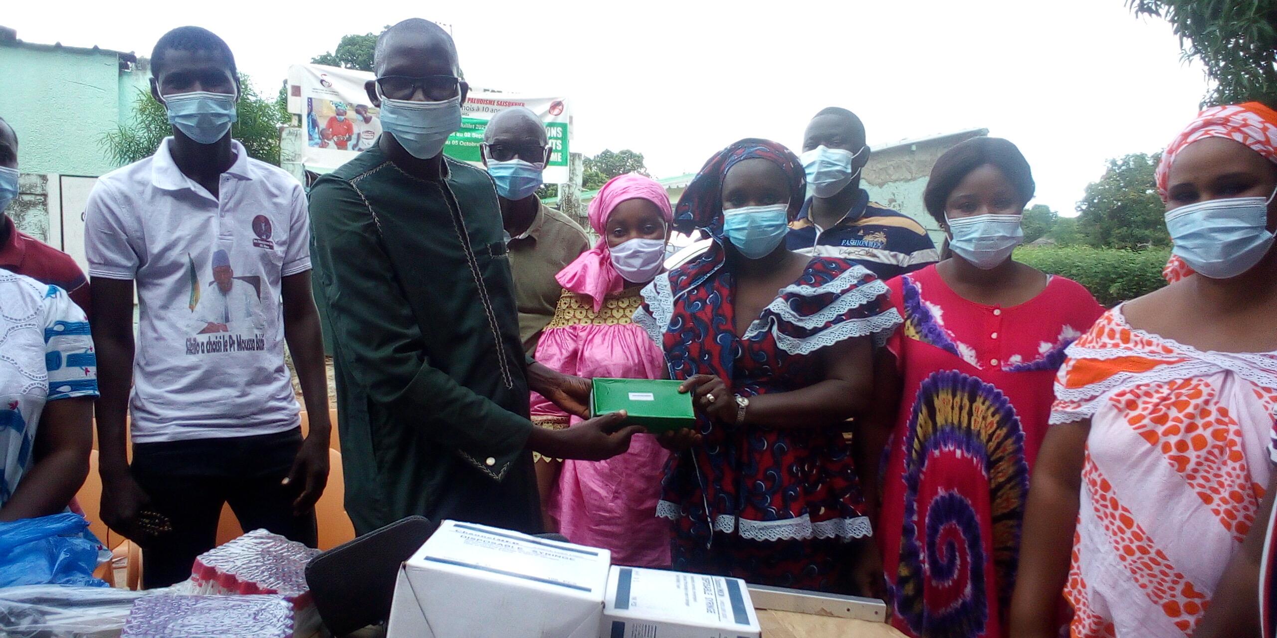 KOLDA : Moussa Baldé (Maer) équipe le poste de santé de Sikilo-Hiléle.