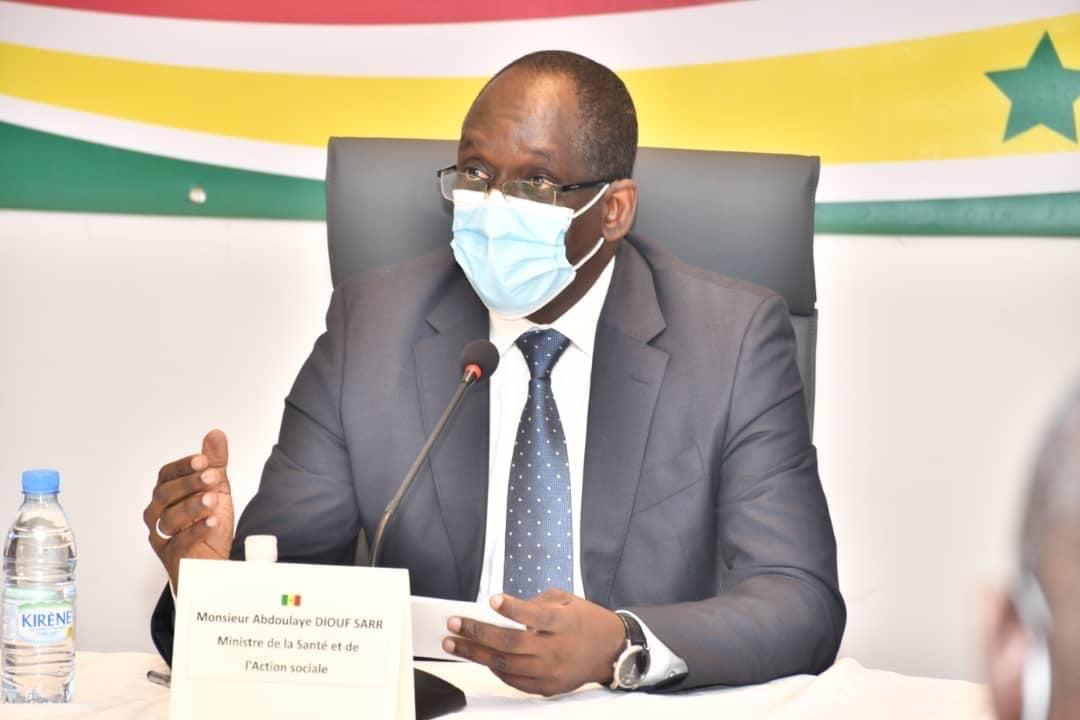 Baisse des cas de Covid-19 : « Les résultats sont encourageants, mais nous devons faire preuve d'humilité et de vigilance. » (Abdoulaye Diouf Sarr, MSAS)