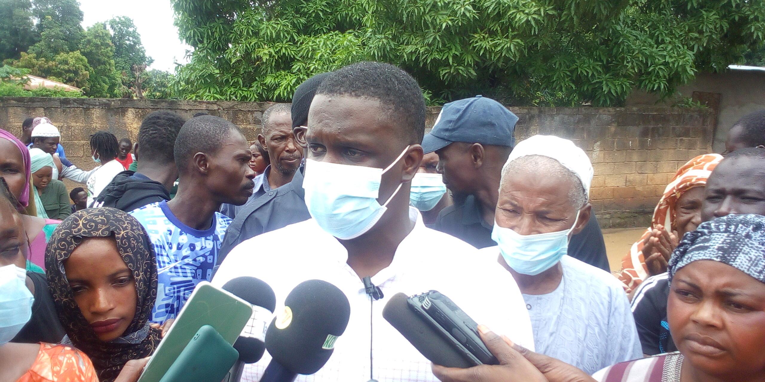 72 heures du Mouvement Kolda debout : « Diriger ce n'est pas seulement une responsabilité nominative ou élective, mais…… » (Abdourahmane Baldé, président)