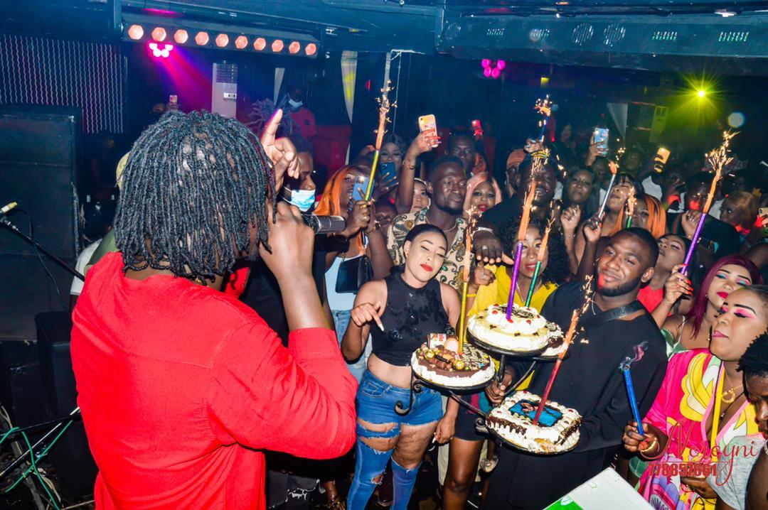 Les images de la Soirée anniversaire de Tarba Mbaye au Trafic Club