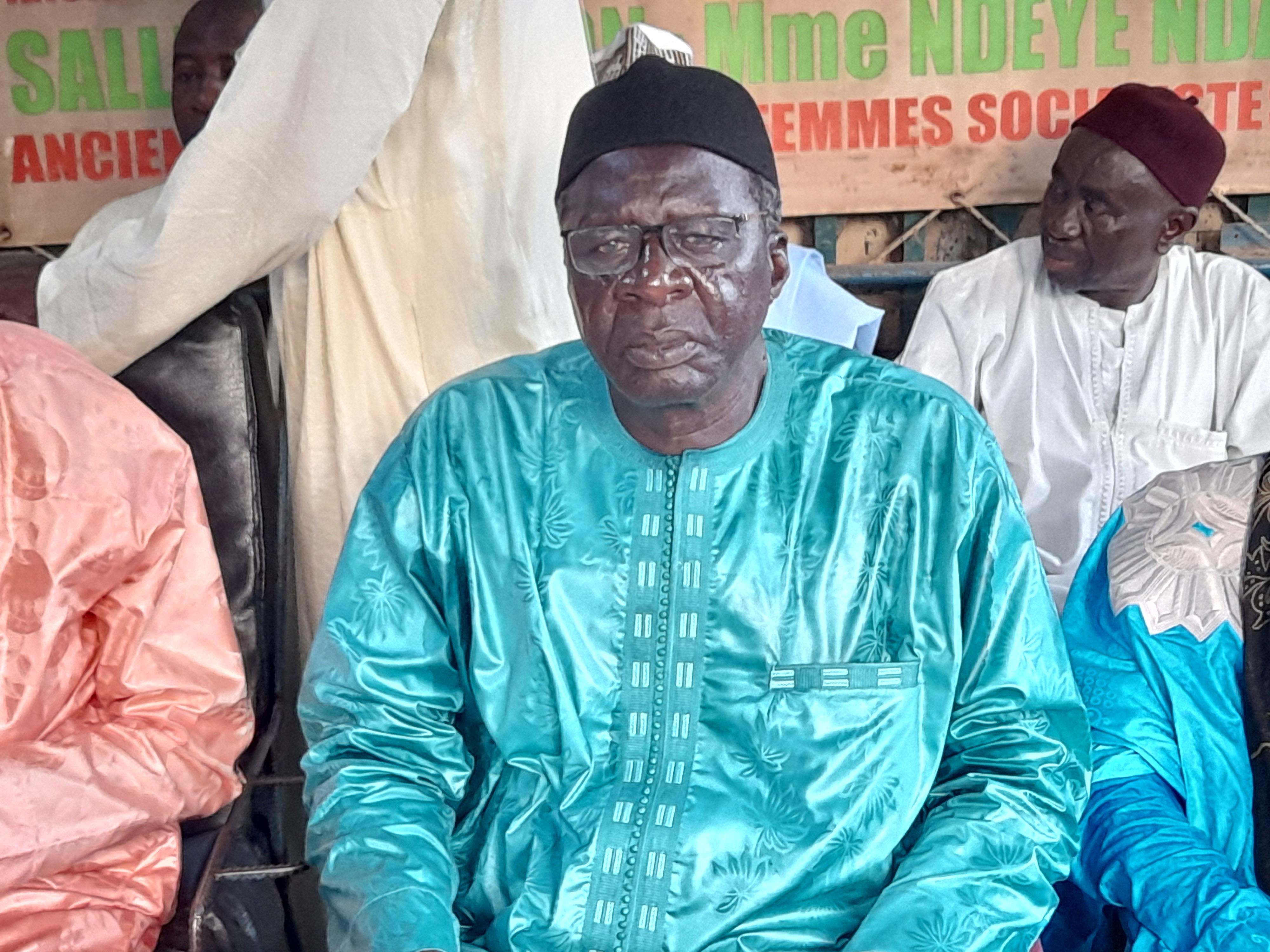 Élections locales : Diockel Gadiaga candidat à la mairie de Kaolack sous la bannière  de Khalifa Sall.