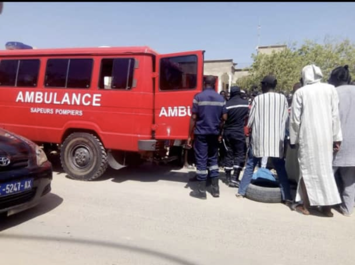 Violent accident devant le siège du PDS : Un conducteur de moto perd la vie.